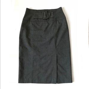 Worthington Buckle Waist Pencil Skirt Size 6